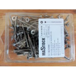 Vis Inox A2 200 pièces - Mastock