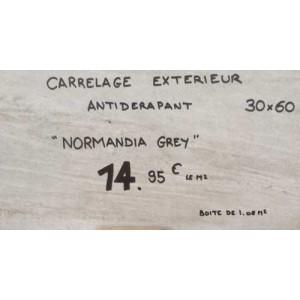 Carrelage Antidérapant - Normandia Grey
