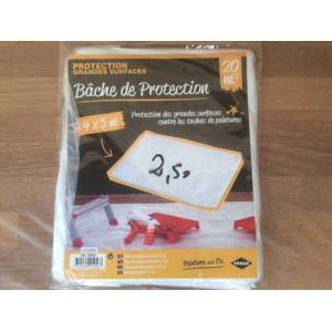 Bâche fine de protection - Mastock