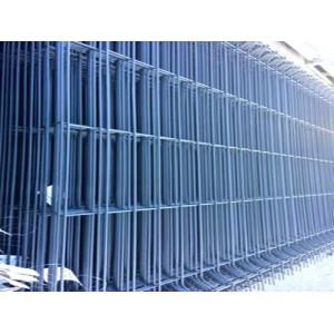 Clôture en panneaux grillagés gris - Mastock
