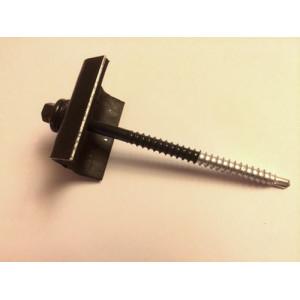 Fixations pour tôles bac acier - RAL 5008 - Mastock