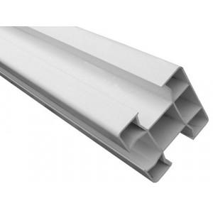 Poteau rainuré en PVC - Mastock