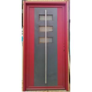 Porte d'entrée mixte simple - Mastock Nivillac