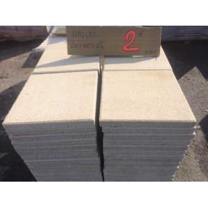 Dalle sablée 40 x 40 cm - Mastock