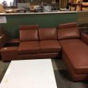 Canapé d'angle marron - Mastock