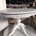 Table ronde bois blanc - Mastock