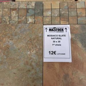 Mosaïque Slat Natural - Mastock