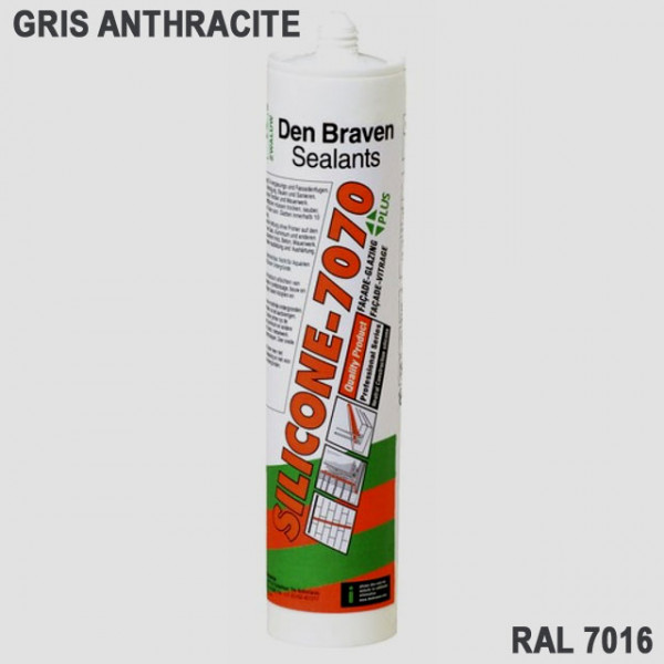 Silicone gris anthracite RAL 7016 - Mastock