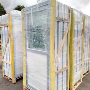 Portes de service PVC blanc - Mastock