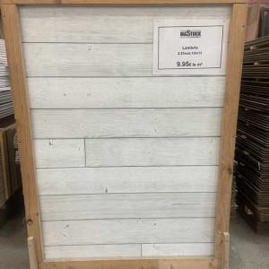 Lambris blanc cassé - Mastock Nivillac