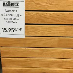 Lambris Canelle - Mastock