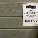 Lambris gris Armor - Mastock