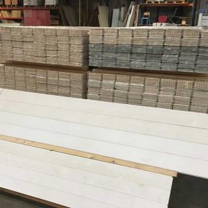 Lambris blanc - Mastock