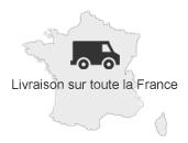 Livraison en France continentale (sur devis)